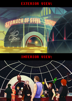 REV: Stomach of Steel Booth by KiyokoAmaya