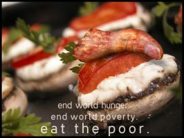 end hunger, end poverty by furryomnivore
