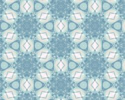 White-Blue Tile 1 by xtextures-stock