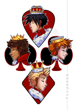Mahou Shounen Fight Cards by IntroducingEmy