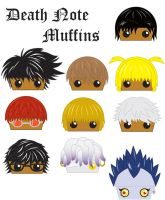 Death Note Muffins by The-MuffinLord