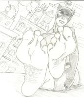 Catwoman's Sexy Soles by Mununsah