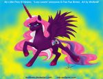 MLP: Lucy Lasers by WolfenM