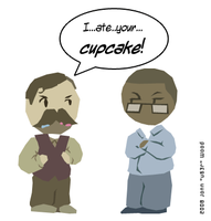 I ATE YOUR CUPCAKE by Jon-Wood