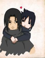 Lovely Uchiha Brothers by FrenzyVammi