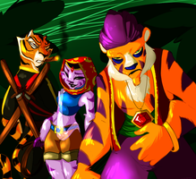 The Villainous Tigers by Vixcoon