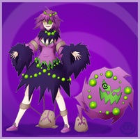 Spiritomb Gijinka by Merum-SB-BlueOlimar