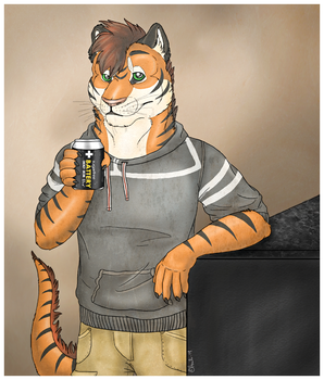 AT: Demo the tiger by HowlingCyborg