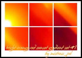 Bright Sunset-1 icon gradients by mistress-pol