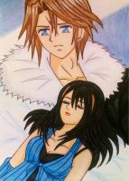 Squall x Rinoa: Please wake up... by dagga19