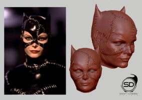 Michelle Pfieffer as Catwoman by Sean-Dabbs-fx