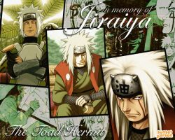In Memory of Jiraiya by sunsetperson
