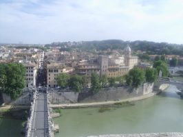 Far side of the Tiber by SonofChinglu