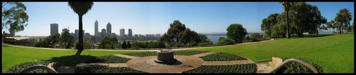 Photostitched 2 Kings Park by shatt3r3d