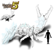 Monster Hunter 5 : crionisceros by REALzeles