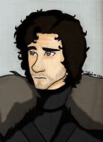 Jon Snow for Smarty-Artist by PrincessD95