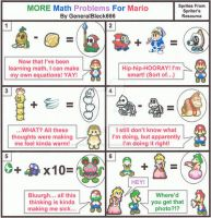 MORE Math Problems For Mario by Colonel-Majora-777