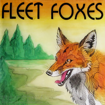 Art Assignment Album Cover - Fleet Foxes by WildSpiritWolf