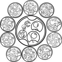 Gallifreyan: Tick Tock Poem by WSmack