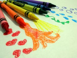 I Love To Color by ZoeiGirl