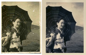 Photoshop Exercise: Photo Restoration by bassistofclosson
