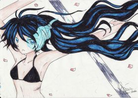 art of black rock shooter by YukinaHihara