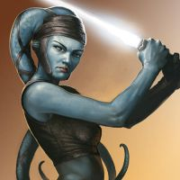 Aayla Secura by BenWootten