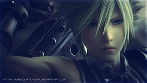 Cloud Dissidia 012 Style by cHoCoLaTe-DeViL