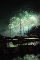 Fireworks festival 2014 to CANNES by A1Z2E3R