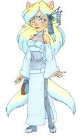 Algea Dawn of the Dance outfit by GlyphBellchime