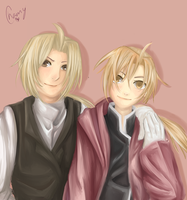 Edward and Alphonse Elric by Destined-Child