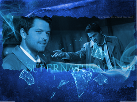 Supernatural-CASTIEL-Wallpaper by GrafixGirlIreland