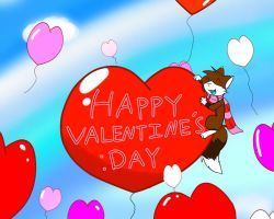Happy Valintine's Day :D by FinalFantasyFox