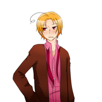 Hetalia - An eventual 2pCanada by megane-no-buta