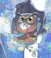 Owls love freelance by Ramonn90