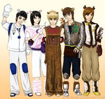 TVXQ Zoo by sonteen12
