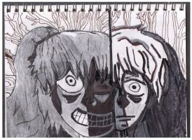 Insane Girl and Eric 2 by ienzo628