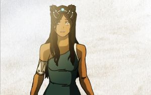 Korra Hair Make over by LiisArt
