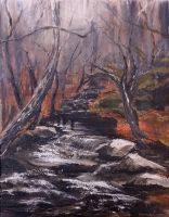 Chatfield Hollow - Creek by sixstringphonic