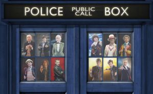 Doctor who 12 Docs by Brandtk