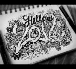 Doodle: Hello 2012 by lei-melendres