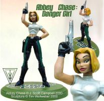Abbey Chase Danger Girl sculpt by Timbone