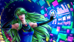 Let the Music Play + [SpeedPaint] by Amana-Jackson