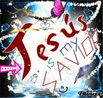 JESUS IS MY SAVIOR by violetasilvestre2011