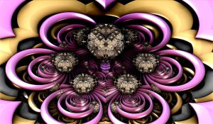 creation with violet rings by Andrea1981G