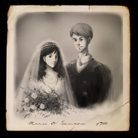 Marie and Sanson by It-is-a-circle