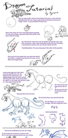 Dragon Tutorial by Kyrara