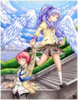 Angel Beats - Stay Connected by stray-life