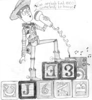 Woody singing by CartoonLover159
