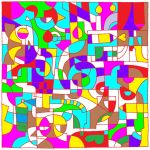 Abstract Birthday! by Rose-de-Noire